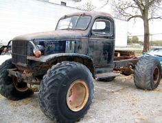 1943 Chevrolet truck on agricultural tires - Autos - Rat Rod Trucks, Rat Rods, Farm Trucks, Dodge Trucks, Custom Trucks, Lifted Trucks, Cool Trucks, Pickup Trucks, Pick Up
