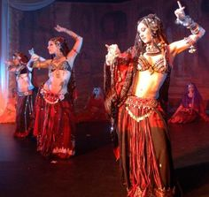 Tribal fusion style belly dance with Rachel Brice