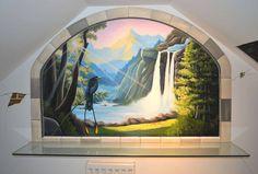 Waterfall window