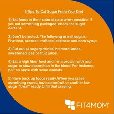 Cut Your Processed Sugar - Largest Fitness Program for Moms