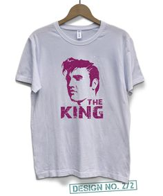70d4685e9 Free Shipping, Elvis Presley T-shirt for Men, Music T-Shirt, Elvis Presley  Fan Shirt for Man and Boy, Rock Music Retro Shirt, Elvis the King