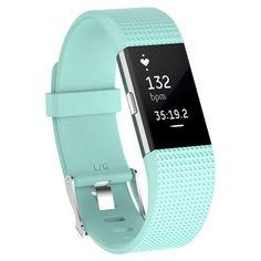 Dorado fitness pulsera 3d aplicación rosa para fitbit charge 2
