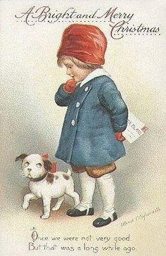 http://vintageholidaycrafts.com/wp-content/uploads/2008/11/vintage-chrsitmas-card-white-brown-dog-little-boy.jpg