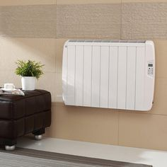 Eco Art 2600W Electric Heating Radiators with Built-in LCD Thermostat #Affiliate