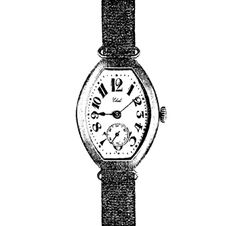 1912 1912 : In a period where pocket watches were the traditional timepiece, EBEL takes an innovative approach and launches the first EBEL wristwatch.