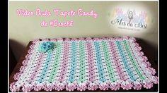 Tapete Candy de #crochê - Desi Winters
