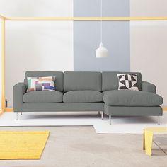 Uppsala R-Corner Sofa - Lt Gr  - alt_image_three