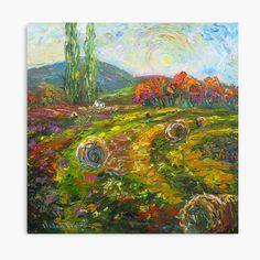 My Canvas, Canvas Prints, Impressionist, Vibrant Colors, Fine Art Prints, Oriental, My Arts, Landscape, Portrait