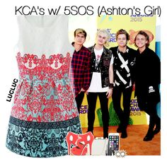"""""""KCA's w/ 5SOS (Ashton's Girl)"""" by fangirl-1d ❤ liked on Polyvore featuring Qupid, Oasis and lucluc"""