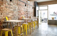A Richmond fit out puts a fresh twist on the neighbourhood fish shop, capitalising on its site's original features and blending them with modern elements.
