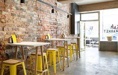 Fishy Business, Richmond designed by Anna Drummond and Trish Turner of CoLAB Design Studio