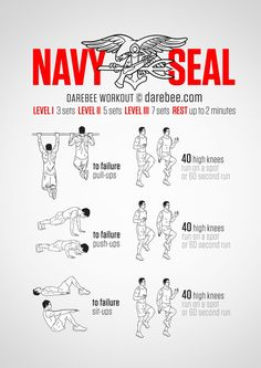 Everyone knows that Navy Seals are lean and mean. How they get that way has been a bit of a secret, until now. Well, maybe not a secret but certainly knowing what you have to do in order to get to Navy Seal level of fitness is exactly what this...