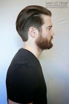 LA: A CLASSIC MEN'S HAIRCUT Like the longer style too