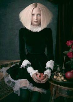 """Still Lives"" by Noddy's On King, Australian Hair Team of the Year 2014. Photog: Troyt Coburn; MUA: Andrea Black #hotOnBeauty #NoddysOnKing #HairCollection"
