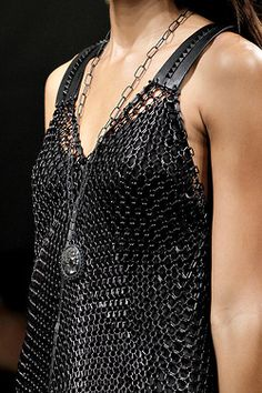 Bottega Veneta SPRING 2011 READY-TO-WEAR - I would SOOOO wear this on my Buell with jeans and boots.