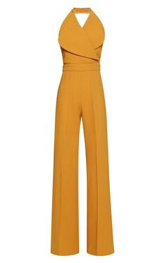 I really need a Jumpsuit. Very retro pair with a big hat and some sandals. W Jumpsuit by Emilia Wickstead for Preorder on Moda Operandi 70s Fashion, Look Fashion, Womens Fashion, Fashion Kids, Trendy Fashion, Fashion Shoes, Mode Style, Style Me, Emilia Wickstead