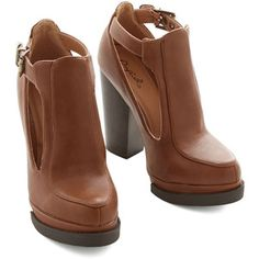 ModCloth Vintage Inspired Tremendous Talent Bootie