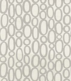 Upholstery Fabric- HGTV HOME Looped Fog---perfect for art canvas in the dining room!***