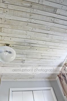 Pallet Ceiling Idea This Is The White Washed Ceiling I
