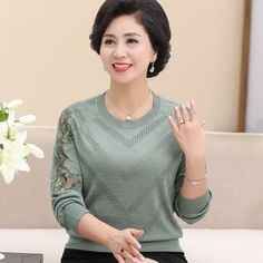 Women New Style of Bottoming Shirt Long Sleeved Sweater ✔ Free Worldwide shipping ✔ Easy Returns #shirt #long #sweater #style #fashion #sweatshirt #women #wool Badass Style, Classy Outfits, Fall Outfits, Maxi Dress With Slit, Long Summer Dresses, Pinterest Fashion, Long Sleeve Sweater, Types Of Sleeves, Pink Purple