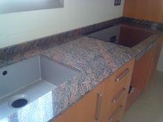 Marmoraria PJ: Granito! Beleza deslumbrante, higienização prática...