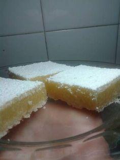 Suavecitos de limón idem a los que hace Ludmila (ella usa azúcar impalpable para el granulado)