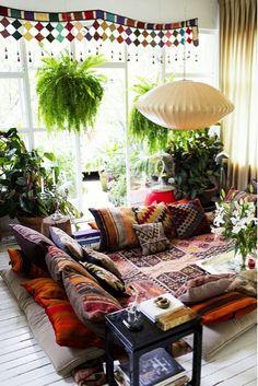 Blog Mi casa entre telas:  10 trucos para decorar tu casa bohemia chic. http://micasaentretelas.blogspot.com.es/