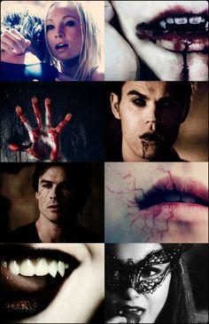 The Vampire Diaries Vampire Daries, Gothic Vampire, Vampire Books, Vampire Diaries Poster, Vampire Diaries Quotes, Vampire Diaries The Originals, Damon Salvatore, Candice Accola, Joseph Morgan
