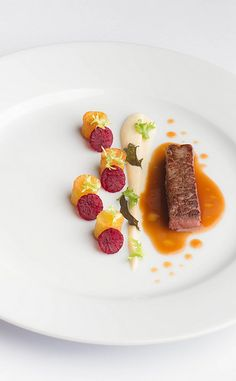Filet, Potatoe, Beetroot