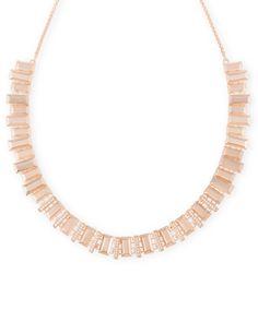 Harper Choker Necklace in Rose Gold