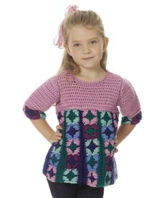 Caron International | Free Simply Soft® Project | Just Plain Fun Child's Top