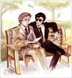 Poetic Difficulties - irisbleufic - Good Omens - Neil Gaiman & Terry Pratchett [Archive of Our Own]