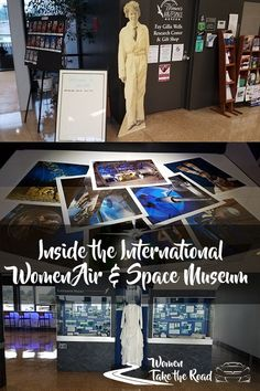 International Women Air & Space Museum Cleveland - highlighting women who pave the path for the future where there aren't roads already.