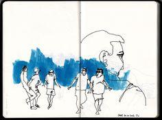 people by Tiago C, via Flickr