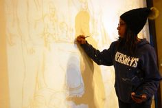 "Artist Tia Richardson praised for her ""extraordinary brilliance."""