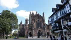 King Street Hereford, view of Hereford Cathedral,  Source: http://www.goherefordshire.co.uk/