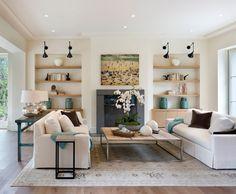 Flat ceiling -beautiful room