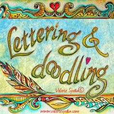 visual blessings: NEW WORKSHOP ONLINE - Lettering and Doodling Hope!