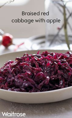 Make this braised red cabbage with apple the night before so you can save time on Christmas Day. This recipe also works really well on Boxing Day with cold cuts of meat too. Find more recipes like this one on the Waitrose website.