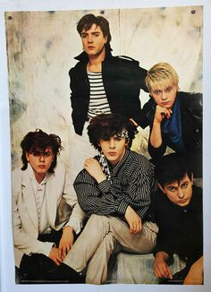 1981 Duran Duran...this was the poster on the back of my bedroom door.  Nice memory.  :)