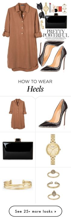 """""""NancyJayjii shoes"""" by oshint on Polyvore featuring United by Blue, Stella & Dot, Kate Spade, Topshop, amazing, black, beautiful, shoes and fabulous"""