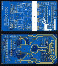 Hi-Fi Class-T TA3020 2x300W Power Amplifier Class D Amplifier, Audio Amplifier, Audiophile, Digital Audio, Diy Electronics, Soldering, Technology, Shirt, Blue