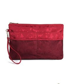 Clutch Bag with Jacquard