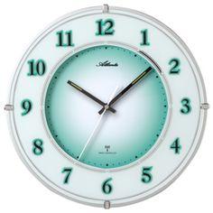 Nástěnné hodiny AT4299 s nočním automatickým LED podsvětlením řízené signálem DCF Clock, Decor, Led, Watch, Decoration, Clocks, Decorating, Deco