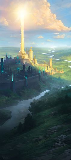 Sages of Ioun by *noahbradley on deviantART #FantasyLandscape