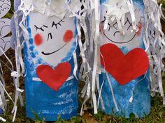 Tvoříme s dětmi ☺: Andělé Reusable Tote Bags