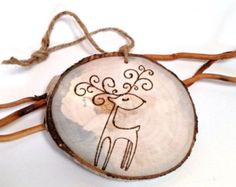 Popular items for rustic ornaments on Etsy