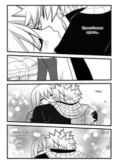 Here's page sorry that it took so long So in this page Mirajane shows up~ The NaLu supporter xD Thnx to her, Natsu changed his mind ^~^ Page [link. NaLu story part 3 (page Fairy Tail Natsu And Lucy, Fairy Tail Manga, Anime Fairy, Fangirl, Fairy Tail Comics, Fariy Tail, Fairy Tail Guild, Fairy Tail Couples, Fairy Tail Ships