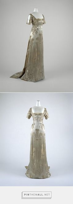 Evening dress by Weeks ca. 1911 French | The Metropolitan Museum of Art