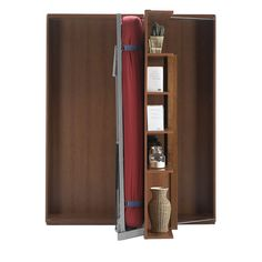 Our Revolving Bookcase & Murphy Tables are compact and versatile furnishings for any home.